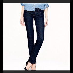 J. Crew Matchstick straight leg jeans women's 26R